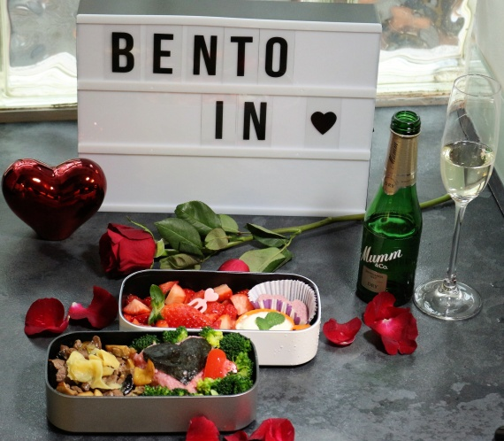 Happy Valentine Bento Box